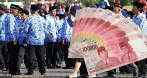gaji pns naik tinggi